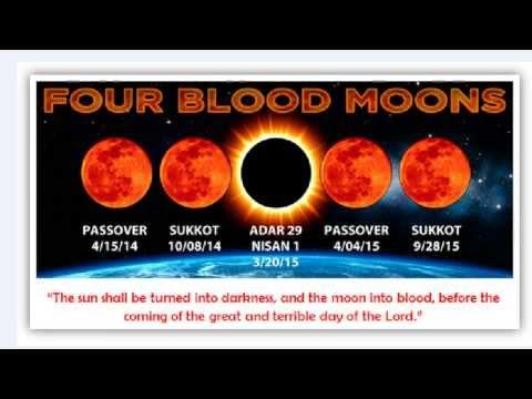 7 Year Tribulation & 4 Blood Moon Tetrad
