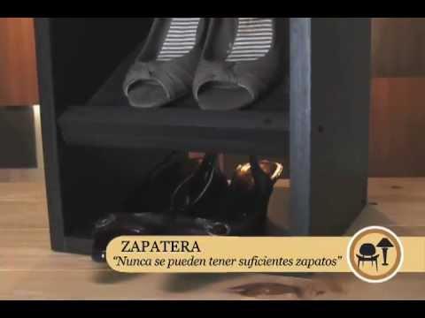 C mo hacer una zapatera youtube for Zapateras de madera