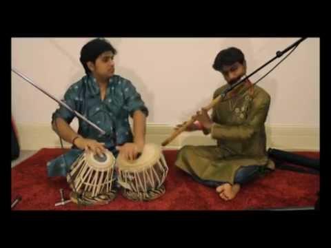 Bansuri And Tabla Duet in Frankfurt....Atul Shankar & Amit Mishra