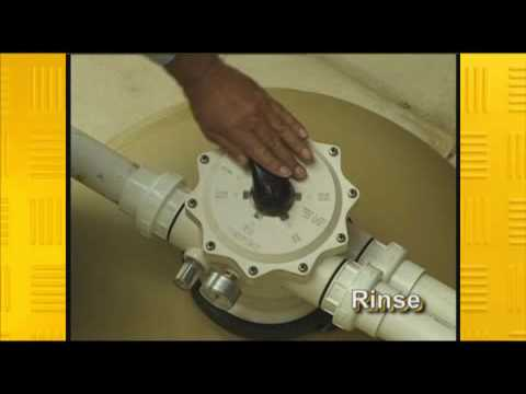Swimming Pool Sand Filter Maintenance Youtube