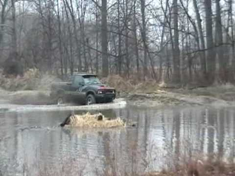 Chevy and Ford Truck Mudding Video