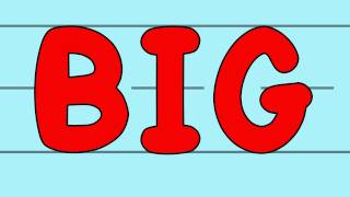 The Big and Small Letters Song