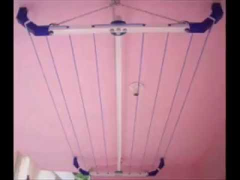 Setting Up A Pulley Clothesline How To Save Money And Do