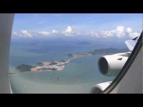 Singapore Airlines Airbus A380-800 - Singapore Changi to Hong Kong Chek Lap Kok