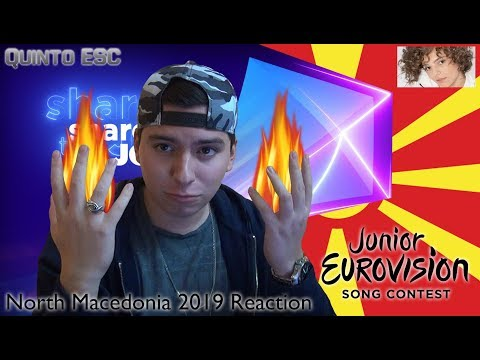 Mila Moskov - Fire Reaction - Junior Eurovision 2019 (North Macedonia) - Quinto ESC