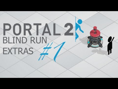 Let's Play Portal2 (Blind) part (7-12) - Secrets with a Bonus