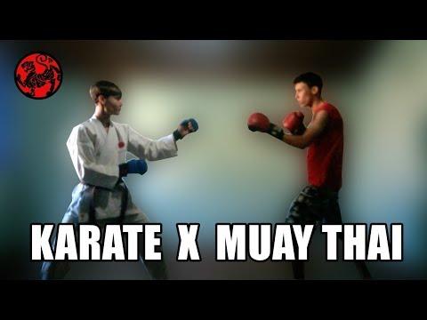 Тайский Бокс против Каратэ РЕАЛЬНЫЙ БОЙ