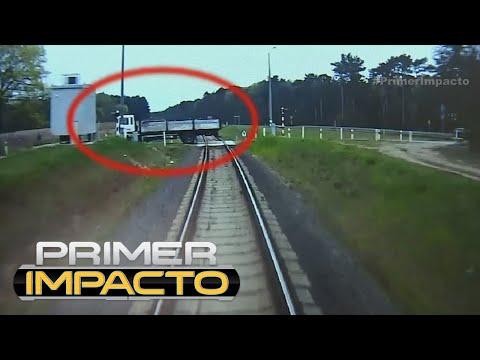 Conductor de tren en Polonia salva a pasajeros de un terrible accidente