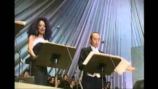 Kawa No Nagare No Youni Diana Ross P Domingo J Carreras Live In Osaka