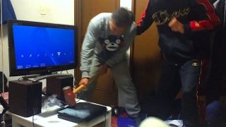 kid gets payback on dad for destroying PS4! MUST WATCH!!!
