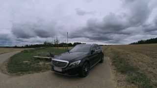 My new Mercedes-Benz C 300 S205 from Outside & Inside