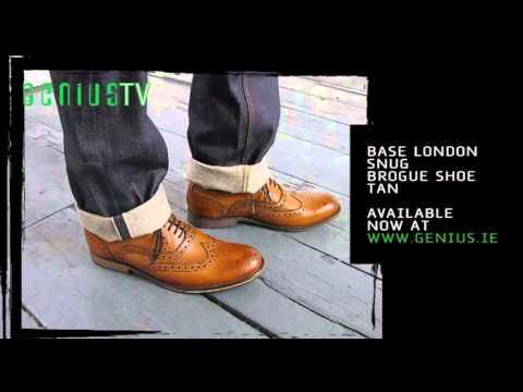 Base London Snug Brogue Shoe @ www.genius.ie
