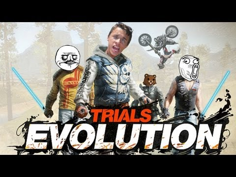 Trials Evolution | Du fun en MASSE avec CodJordan23, MrBboy45 et DarkFuneral97two !