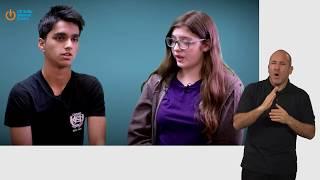 Digital Empathy - Safer Internet Day film for 14 - 18 year olds (British Sign Language version)