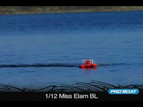 Pro Boat 1/12 Formula RTR Hydro Nitro Gas Speedboat