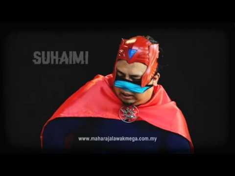 Maharaja Lawak Mega 2014 - #superherolawak 3