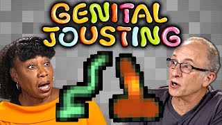 ELDERS Play GENITAL JOUSTING (React: Gaming)