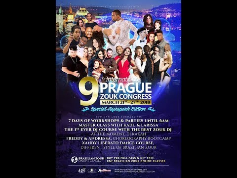 PRAGUE ZOUK CONGRESS  VIDEO PROMO - BRAZILIAN ZOUK CONGRESS