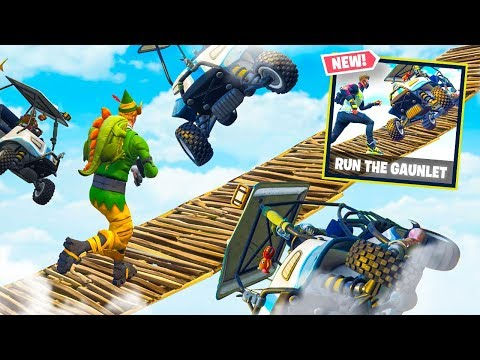 NEW RUN THE GAUNTLET MODE in Fortnite Battle Royale