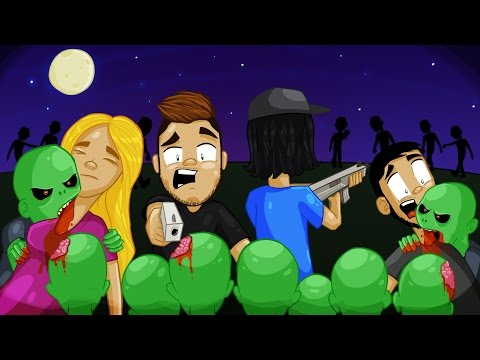 END OF THE WORLD! - Zombies - Zombies Funny Moments