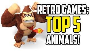 Retro Gaming's BIGGEST Animals!  Donkey Kong to Frogger