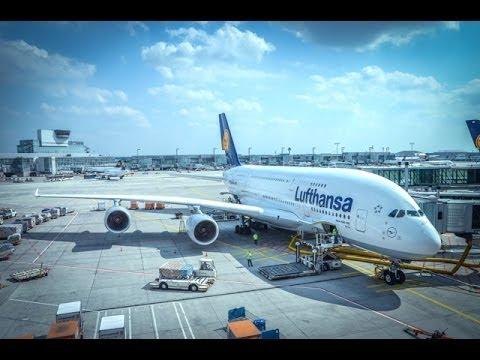 Lufthansa Airbus A380 / Frankfurt to Shanghai PuDong