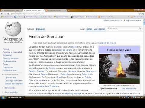 ¿Cómo montar información en Wikipedia? Parte I
