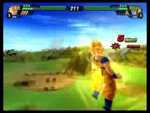 PCSX2 Dragon ball Z Budokai Tenkaichi 3 - Goku vs Perfect Cell