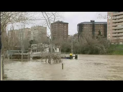 La lluvia causa desbordamientos en varios ríos del Estado