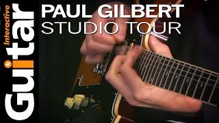 Paul Gilbert - Guitar InteractiveがLA Studio Tour映像20分を公開 thm Music info Clip