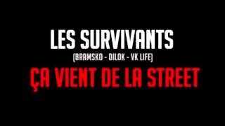 LES SURVIVANTS ( VK LIFE - BRAMS'KO - DILOK) - CA VIENT DE LA STREET