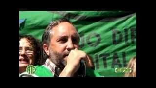 Paro y Movilización a Jefatura de la Ciudad 13-09-12