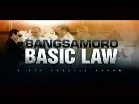 (Part 3/3) BANGSAMORO BASIC LAW - PTV Special Forum - [September 17, 2014]