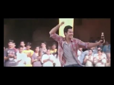 Varun Dhawan dancing in 2013 Coca Cola New AD