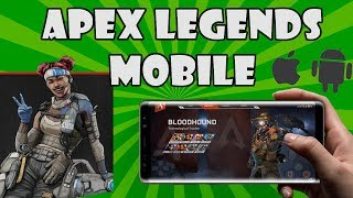 Apex Legends Mobile on Android and iOS!