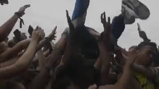 Ski Mask The Slump God Jumps Into Crowd At Rolling Loud 2018 While Performing Take a Step Back