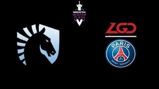 Liquid vs PSG.LGD MegaFon Winter Clash Highlights Dota 2