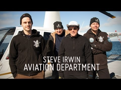 Meet the Crew - Gerry Nel & The Steve Irwin Aviation Crew