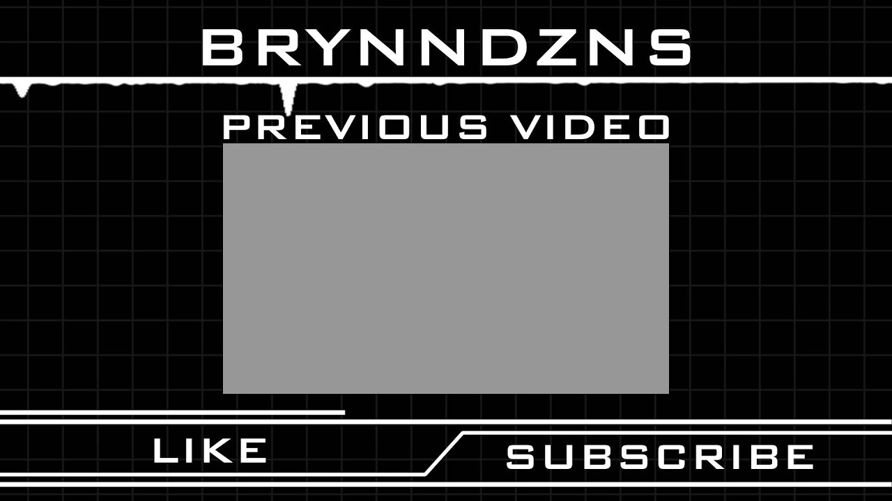Download free youtube outro template youtube for Outro template download