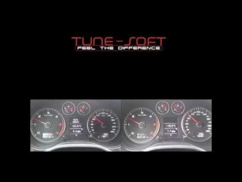 CHIPTUNING by Tune-Soft Audi A3 2.0tdi CR 50-160 km/h