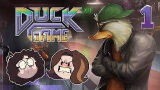 Duck Game: Quackers - PART 1 - Game Grumps VS