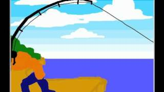 fishing project - pivot stick figure animation