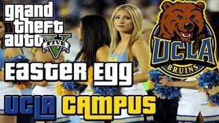 GTA 5 Easter Egg: UCLA University Campus - ULSA (GTA V)