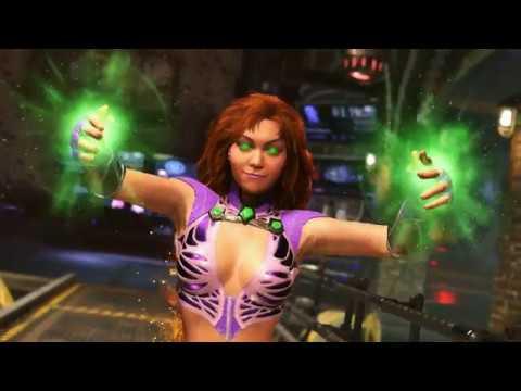 INJUSTICE 2 - Starfire gameplay trailer