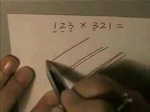 Matematicas - Multiplicar con rayas e intersecciones
