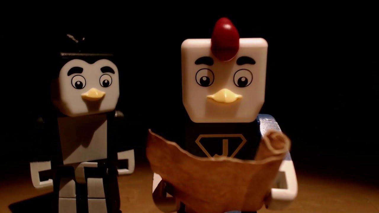 Atlantic Craft Mystery Treasure Hunt Animated! (Stop Motion Minecraft Animation)