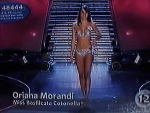 Oriana Morandi,Miss Basilicata Cotonella,Top 20 at Miss Italia 2009.Bikini Catwalks