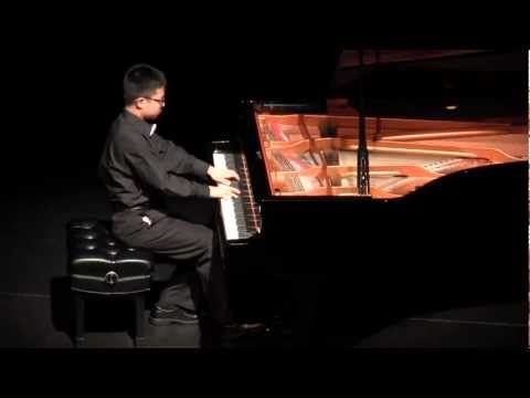 Young Stars Festival 2012. Steven Gong plays Hungarian Rhapsody no. 12 by Listz