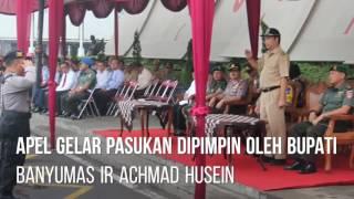 Apel Gelar Pasukan Operasi Ramadniya Candi 2017 Polres Banyumas