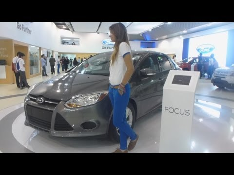Ford Focus SE 2013 Auto Show Salón Automóvil Bogota 2012 FULL HD